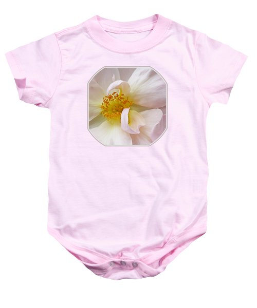 Heart Of The Rose Baby Onesie