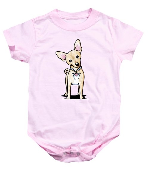 Heart Wings Chihuahua Baby Onesie by Kim Niles