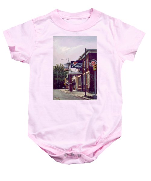 Hemlock Hotel Baby Onesie