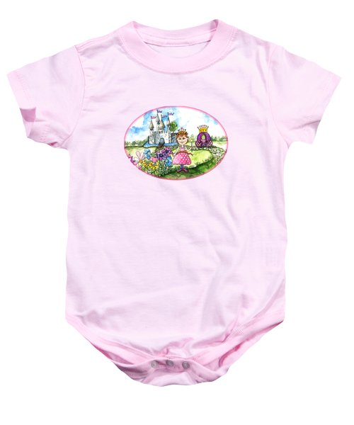 Her Royal Princess Baby Onesie by Shelley Wallace Ylst