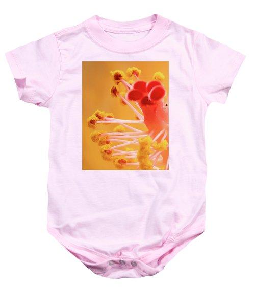 Hibiscus-2 Baby Onesie