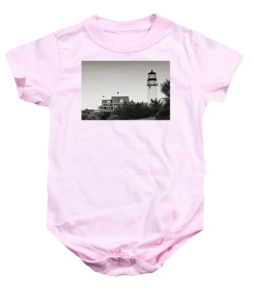 Highland Light At Cape Cod Baby Onesie