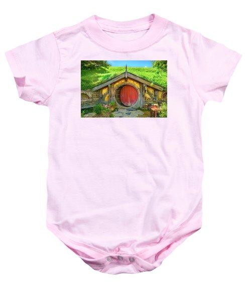 Hobbit House Baby Onesie
