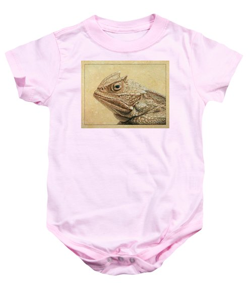 Horned Toad Baby Onesie