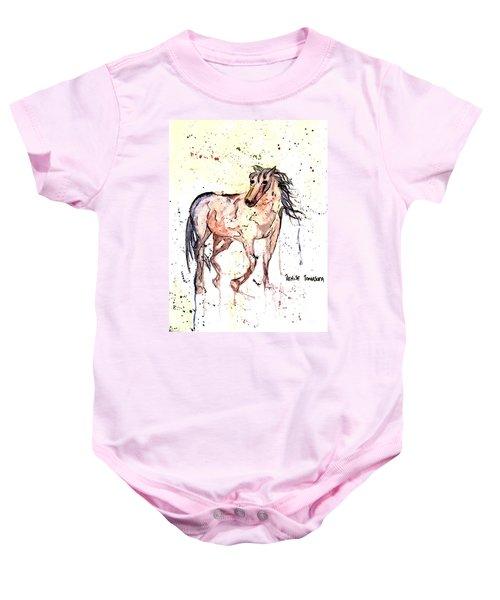 Horse Seekers Baby Onesie