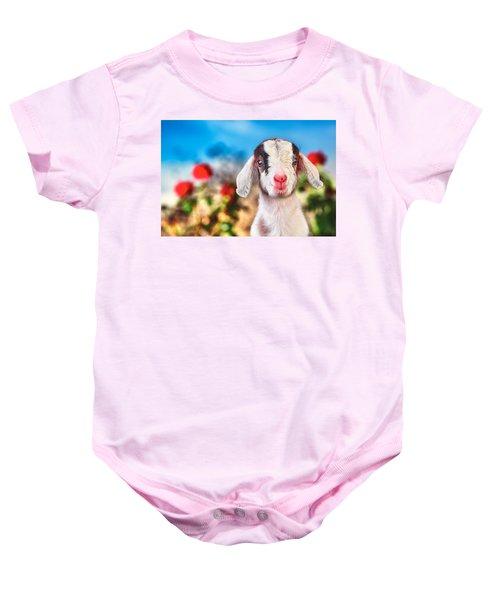 I'm In The Rose Garden Baby Onesie