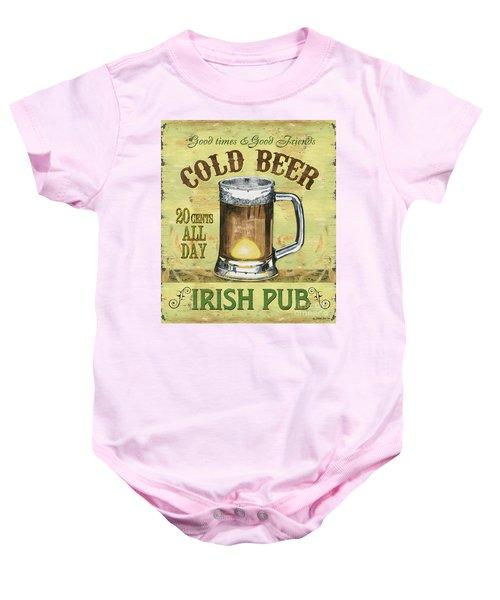 Irish Pub Baby Onesie