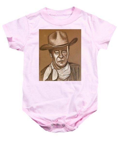 John Wayne Baby Onesie