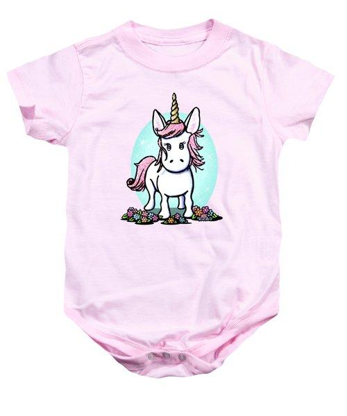 Kiniart Unicorn Sparkle Baby Onesie