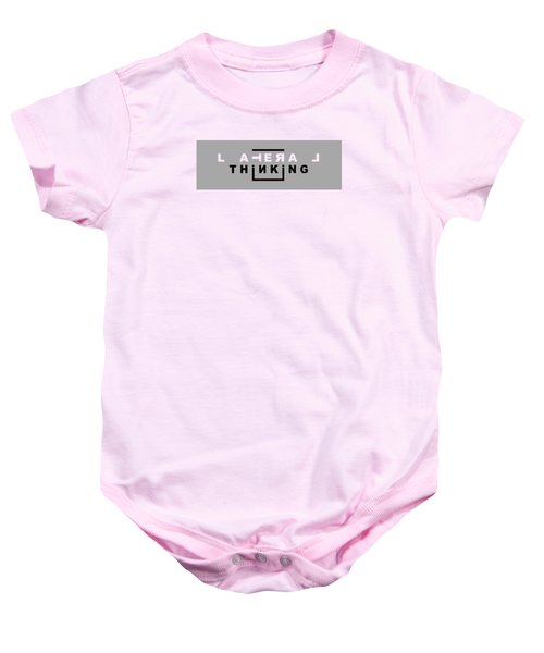 Lateral Thinking Baby Onesie by Mal Bray