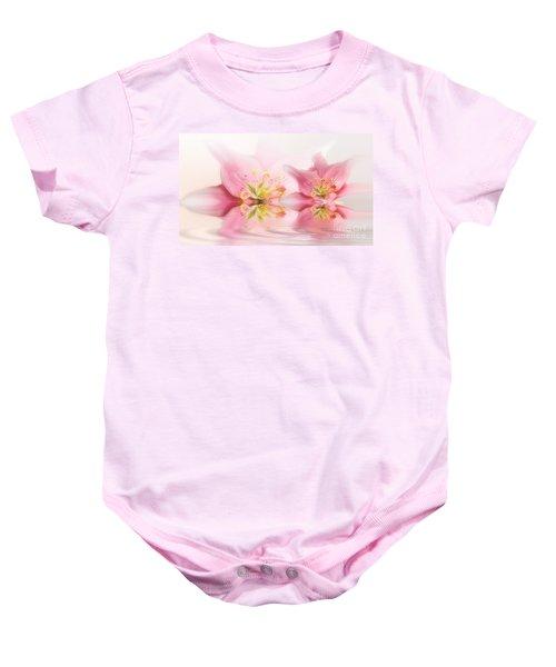 Lilies Baby Onesie