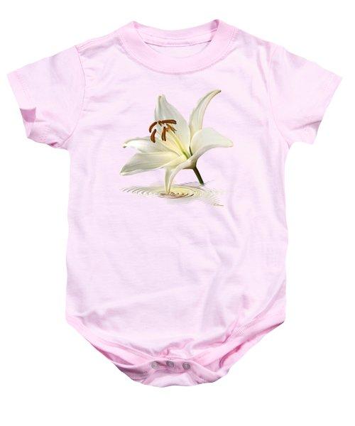 Lily Trumpet Baby Onesie