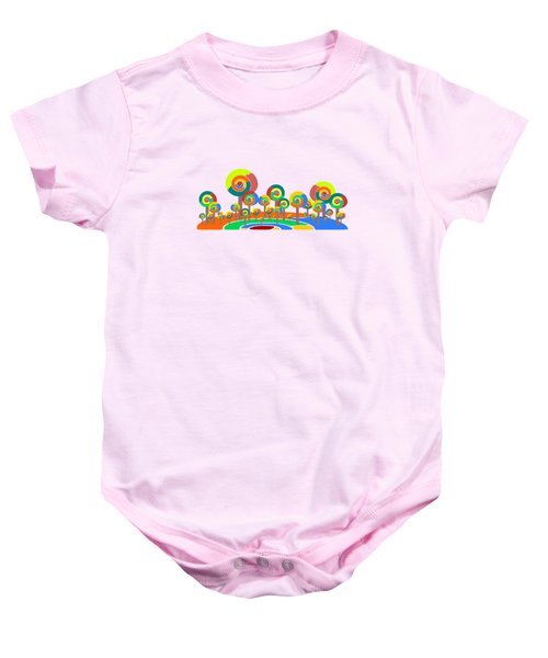 Lollypop Island Baby Onesie