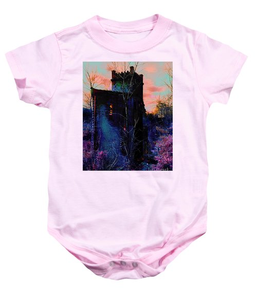 Lost Tower Of The Blue King Baby Onesie