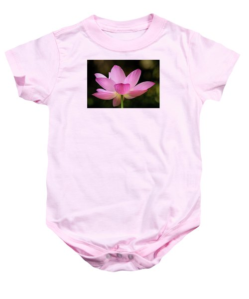 Lotus At The National Zoo Baby Onesie