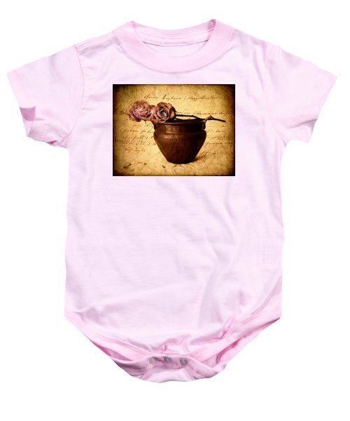 Love Notes Baby Onesie
