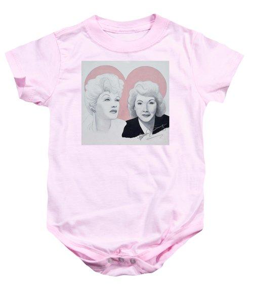 Lucille And Vivian Baby Onesie
