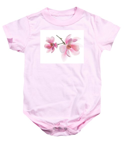 Magnolia Is The Harbinger Of Spring. Baby Onesie