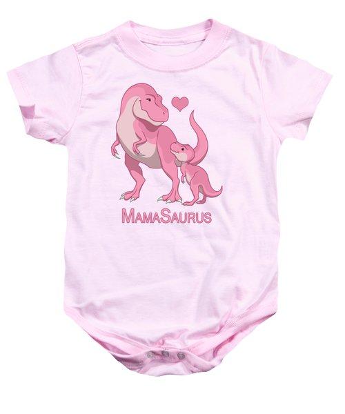 Mama Tyrannosaurus Rex Baby Girl Baby Onesie