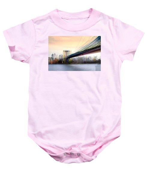 Manhattan X3 Baby Onesie