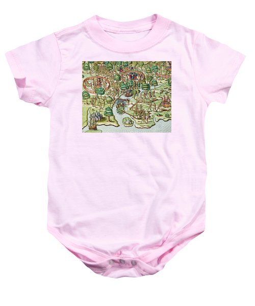 Methods Of Sieging And Attacking Baby Onesie