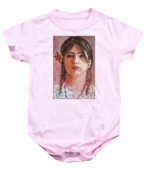 Mexican Girl Baby Onesie