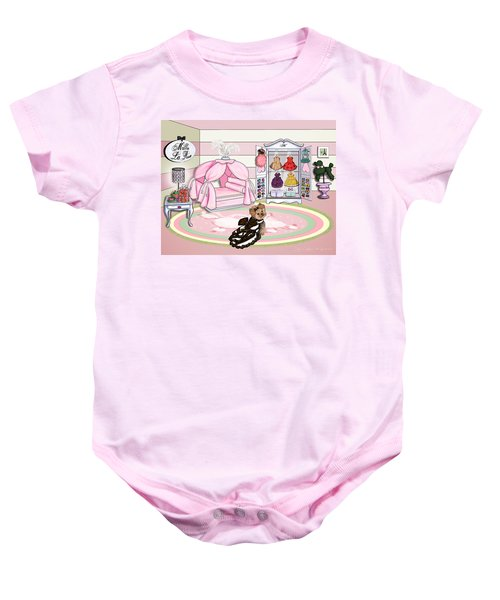 Millie Larue's French Room Baby Onesie