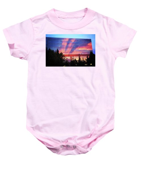 Mirrored Sky Baby Onesie