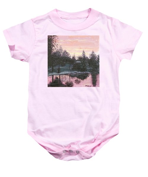 Montgomery Pond Baby Onesie