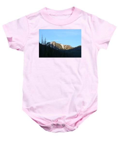 Mountain In Rocky Mountian Np Co Baby Onesie