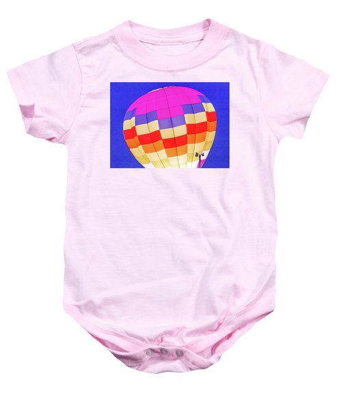 Night Glow At The Hot Air Balloon Festival Baby Onesie