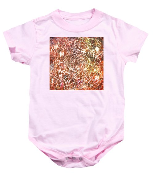 7-offspring While I Was On The Path To Perfection 7 Baby Onesie