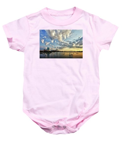 On The Charles II Baby Onesie