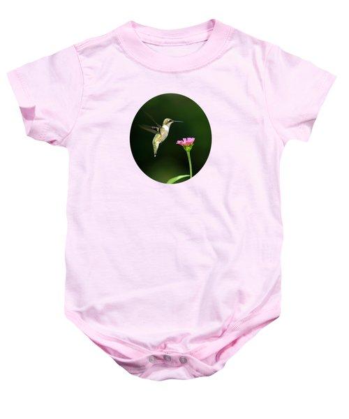 One Hummingbird Baby Onesie by Christina Rollo