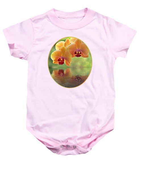 Oriental Spa - Square Baby Onesie