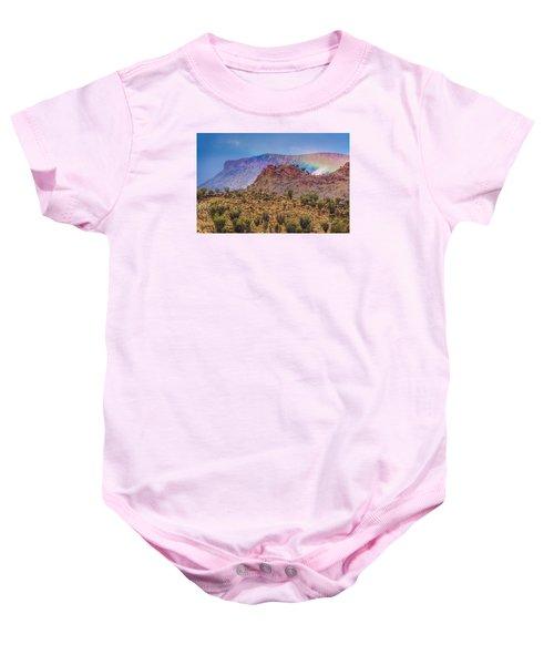 Outback Rainbow Baby Onesie