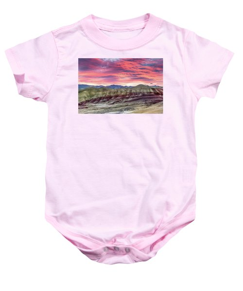 Painted Hills Sunrise Baby Onesie