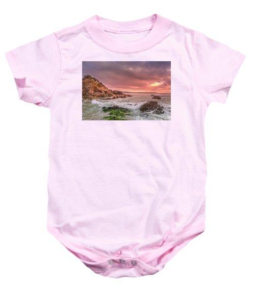 Pambula Rocks Baby Onesie