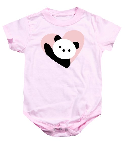 Panda Love Baby Onesie