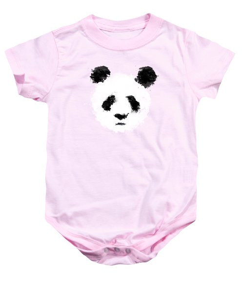 Panda Baby Onesie by Mark Rogan