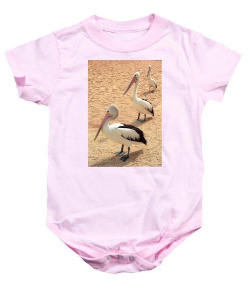 Pelicans Seriously Chillin' Baby Onesie