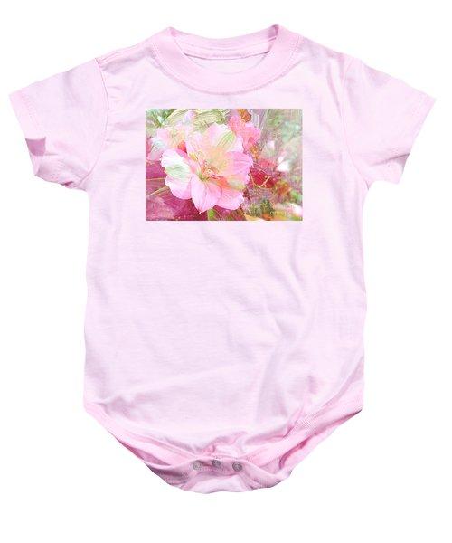 Pink Heaven Baby Onesie