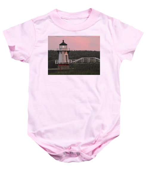 Pink In The Morning Baby Onesie