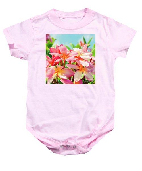 Pua Melia Ke Aloha Maui Baby Onesie