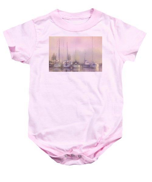 Purple Marina Morning Baby Onesie