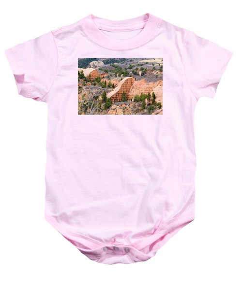 Quarry At Red Rock Canyon Colorado Springs Baby Onesie