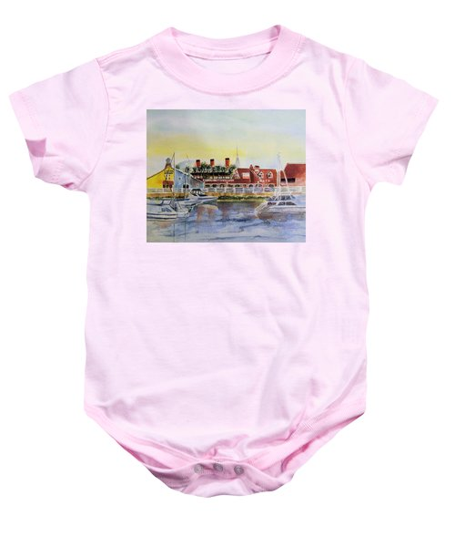 Queen Of The Shore Baby Onesie
