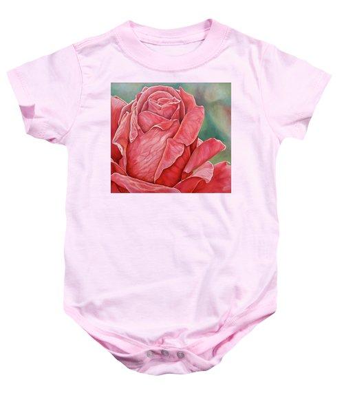 Red Rose 93 Baby Onesie
