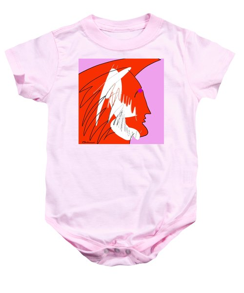 Red Wing Baby Onesie