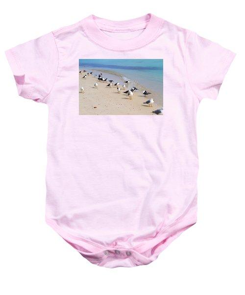 Rhapsody In Seabird Baby Onesie